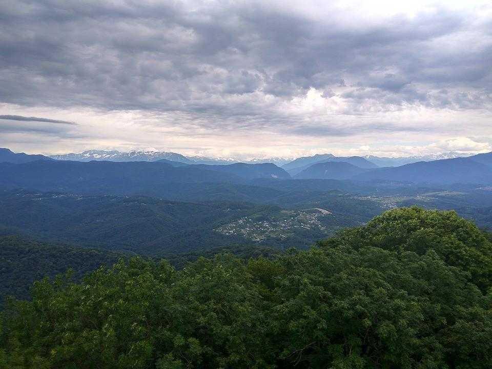 Горы Ахун, Сочи
