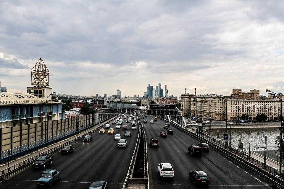 Москва, река, город