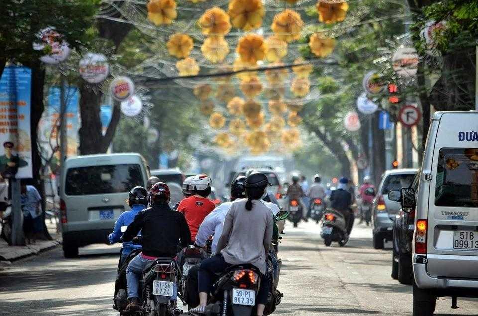 Мотороллеры, Вьетнам