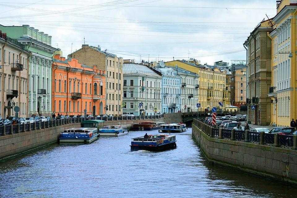 Санкт Петербург, каналы, достопримечательности