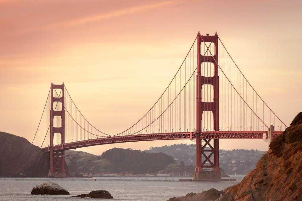 Сан Франциско Мост золотые ворота