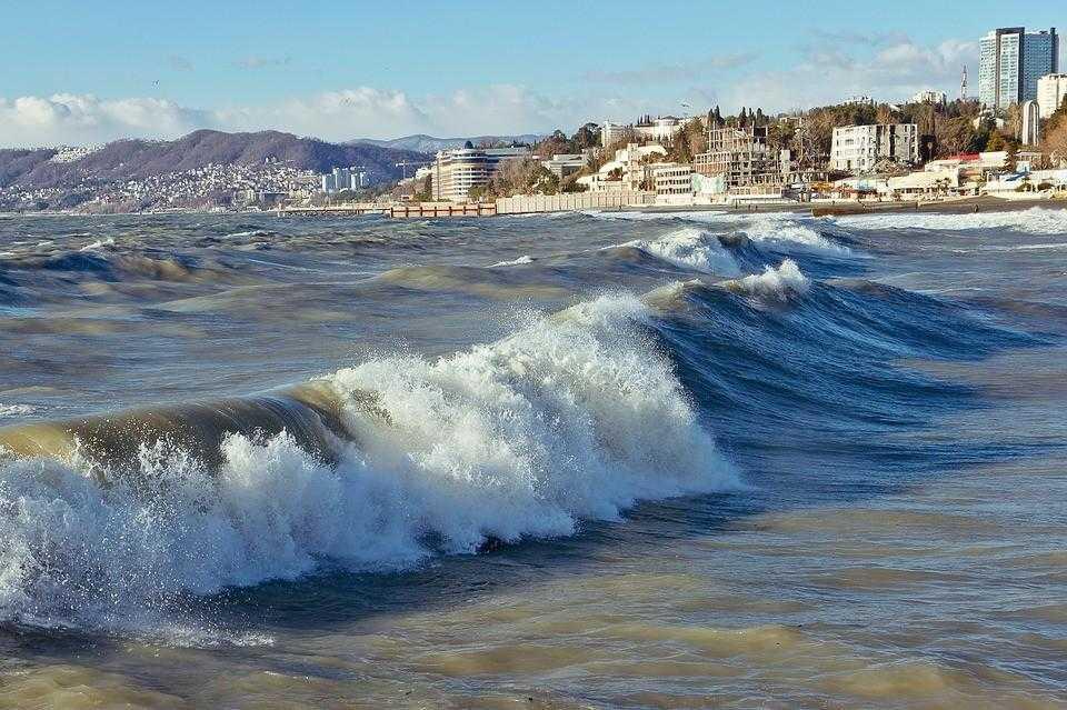 Сочи, Адлер, черное море