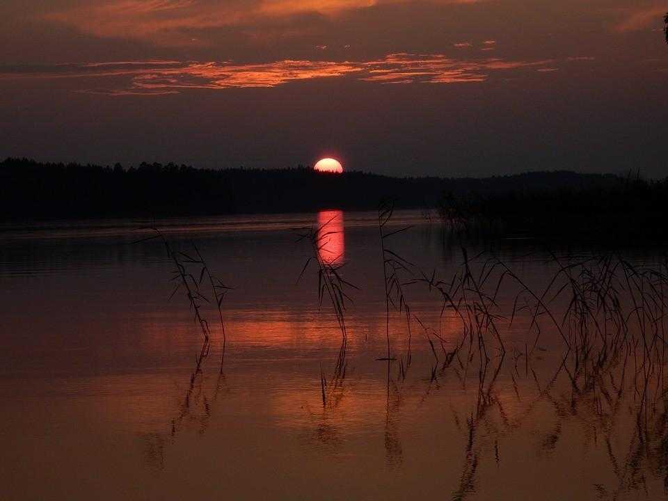 Суоми, Финляндия, озеро