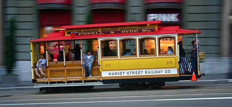 Сан Франциско Трамваи
