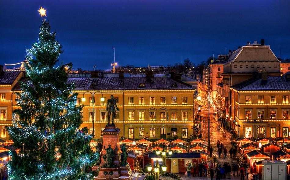 Финляндия,Новый год