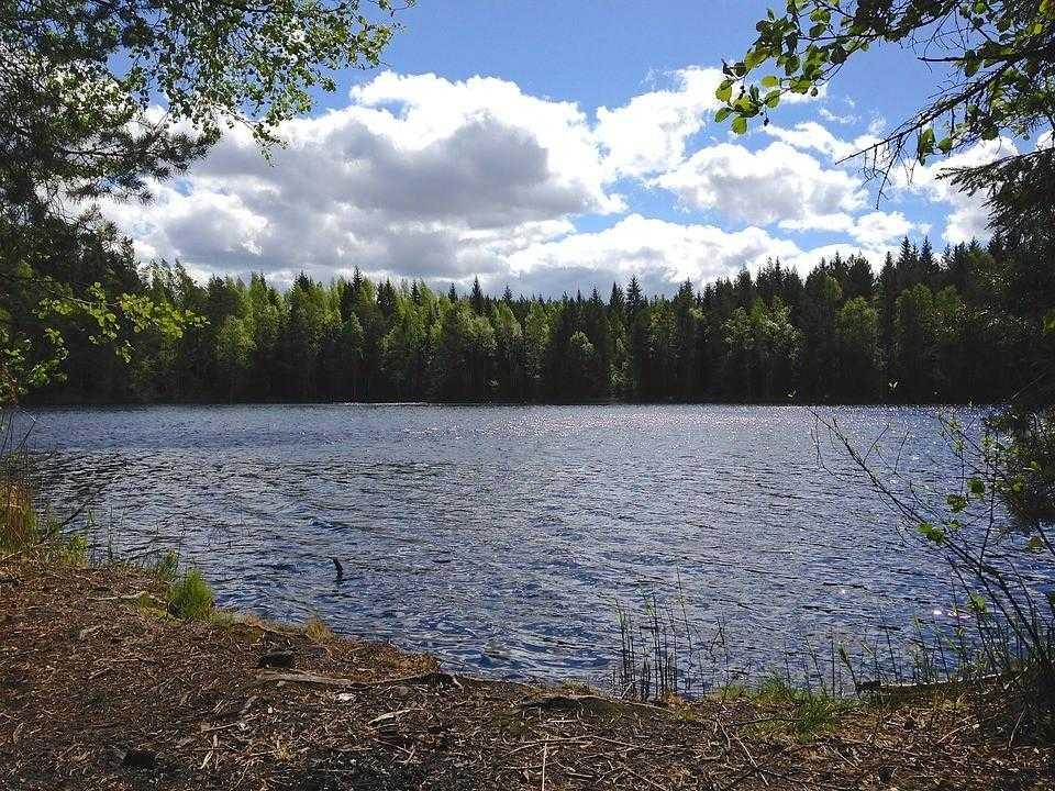 Финляндия, озера