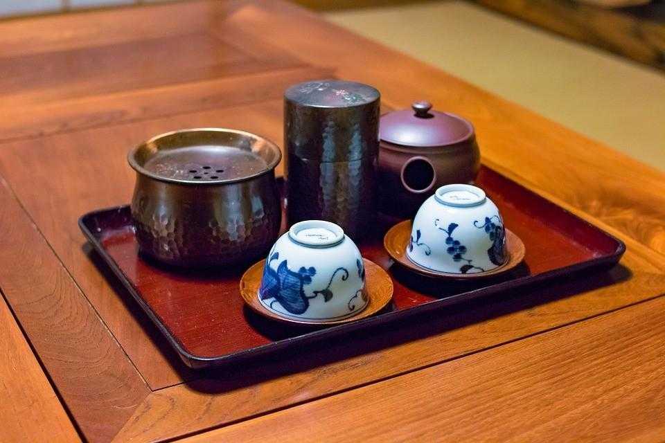 Чайная церемония, Япония