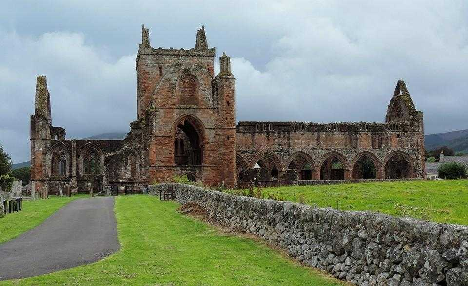 Шотландия, замок, Дамфрис