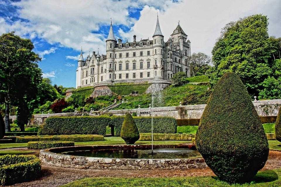 Шотландия, замок