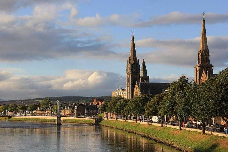 шотландия, фестиваль, цветы
