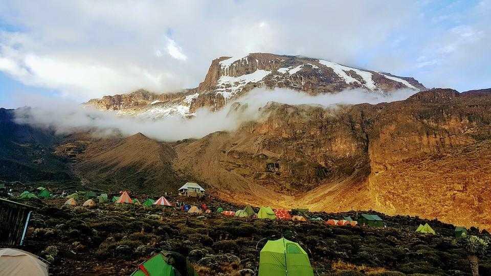 Килиманджаро, Кения, Танзания, Африка
