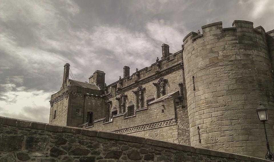 Стерлинг, замок, шотландия