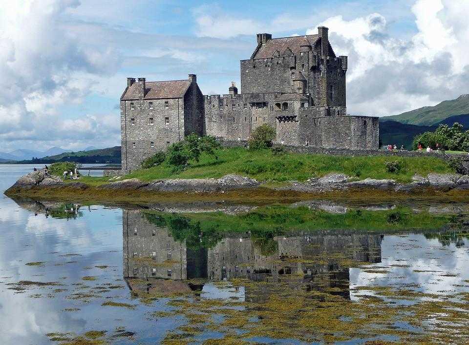 Эльен Донан, замок, Шотландия