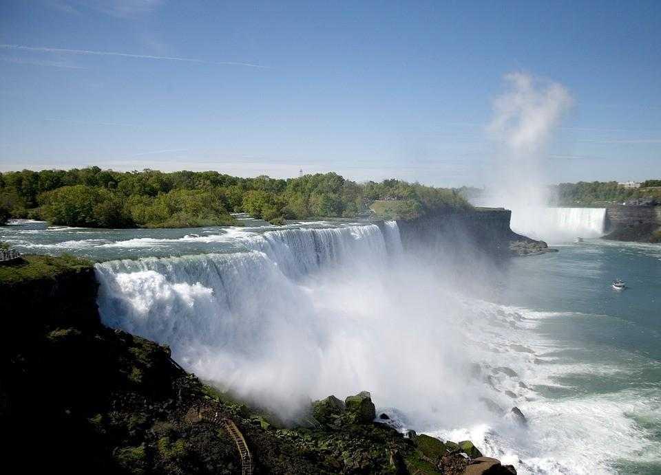 ниагара, водопад, америка