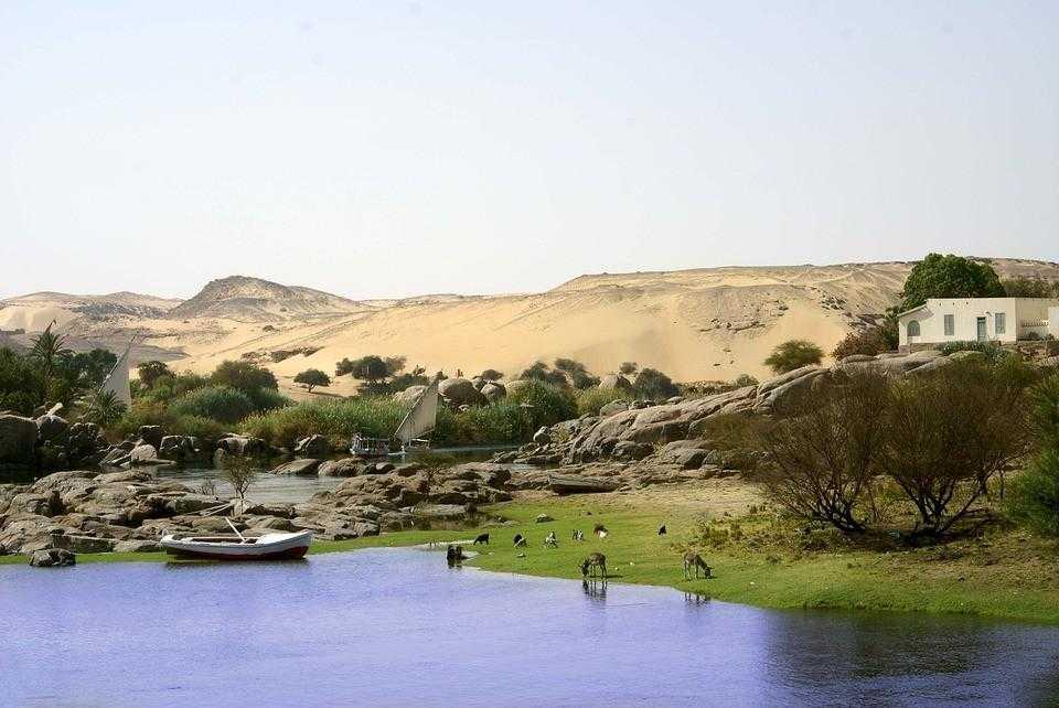 Египет, Асуан, пустыня