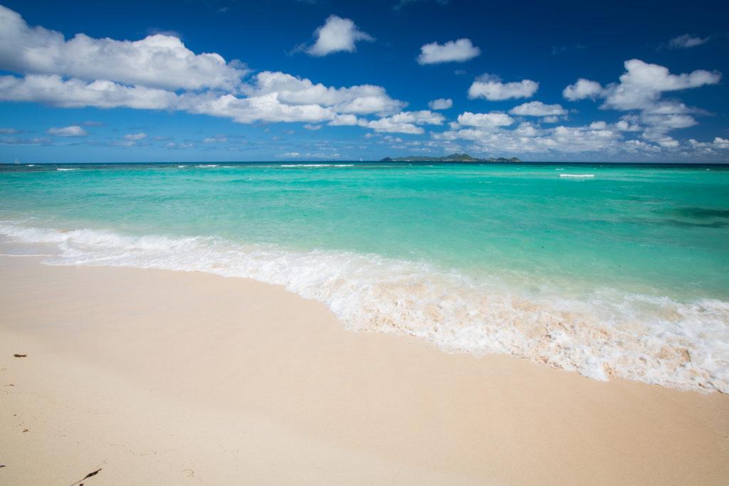 карибские острова, пляж