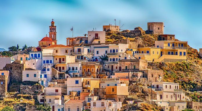 греция, домики