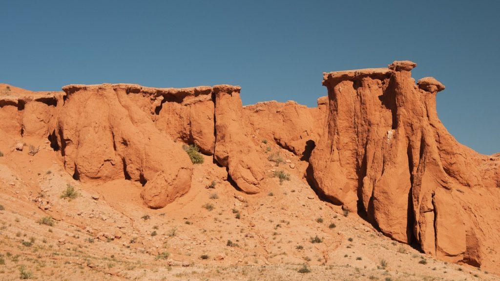 скалы, монголия