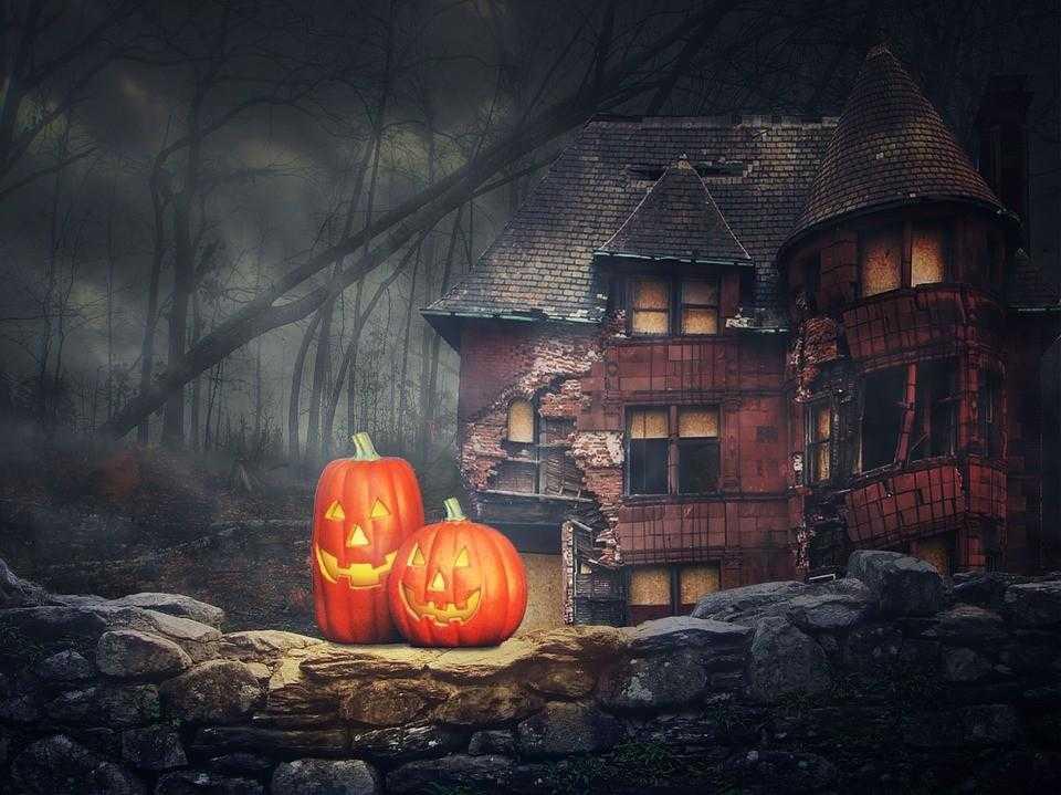 хэллоуин, духи, мир